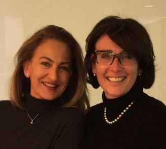 Armelle Hazan et Gila Perelmutter avoactae en Israël