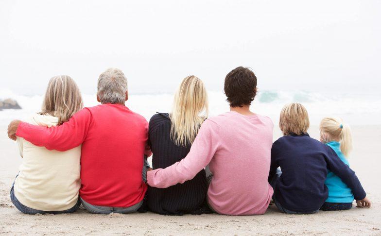 Illustration famille et transmission