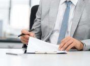 Illustration de contrat de location financière