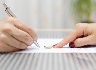 Illustration de la convention de divorce