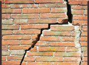 Murs fissurés