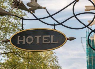 Panonceau hôtel