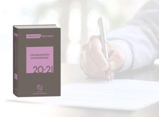 Mémento transmission d'entreprise 2020-2021