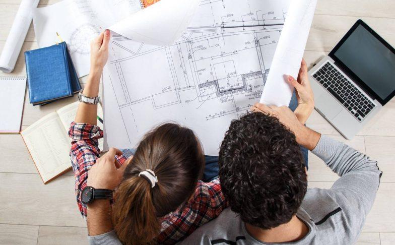 plan d'immeuble en vefa